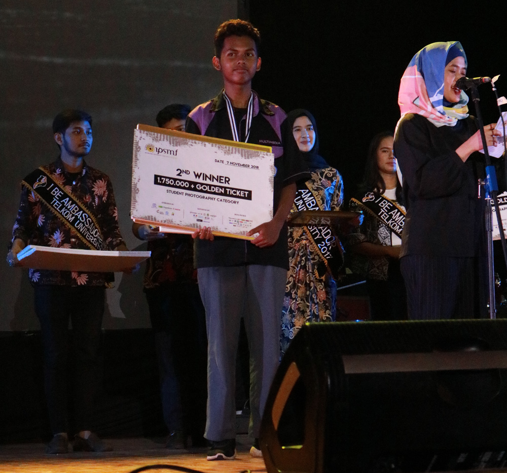 Si Hitam Manis XI-MM, Juara II International Photography and Short Movie Festival 2018