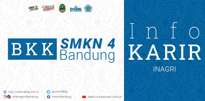 BKK SMKN 4 Bandung - Info Karir INAGRI