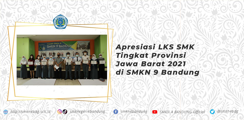 Apresiasi LKS SMK Tingkat Provinsi Jawa Barat 2021